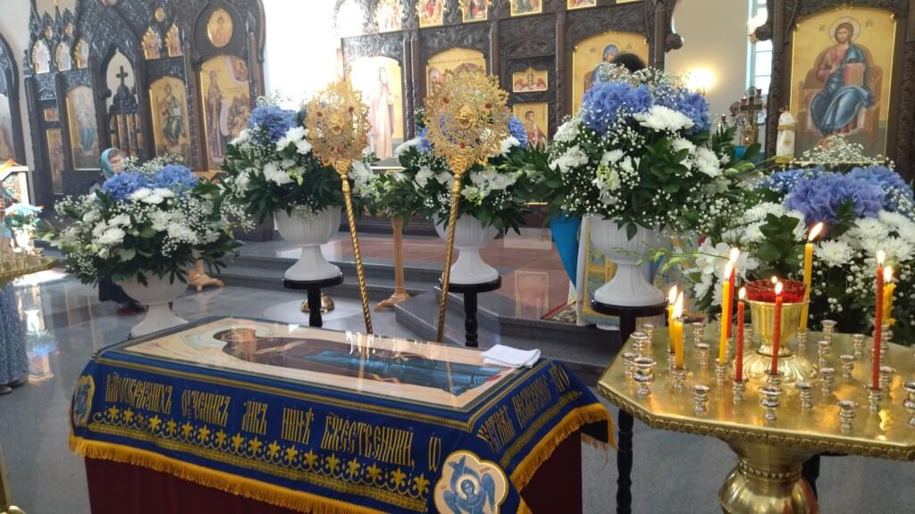 Успение Пресвятой Богородицы в Благовещенском соборе г.Гагарин